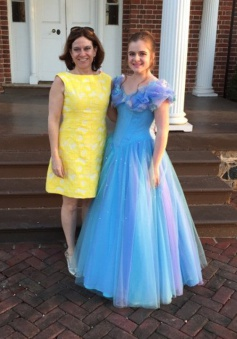 Simple-dress A-line Tulle Floor-length Disney Princess Dresses/ Cinderella Dresses/Prom Dresses/Quinceanera Dresses/Sweet 16 Dresses  TUPD-7378