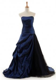 Cheap Ball Gown Strapless Floor-length Taffeta Quinceanera Dresses TADT100089