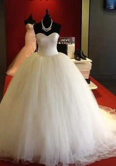 romantic sweetheart bodice corset organza ball gowns wedding dresses 2017