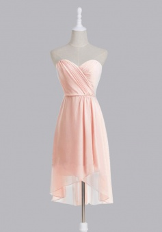 New Arrival A-line Sweetheart Chiffon Bridesmaid Dress