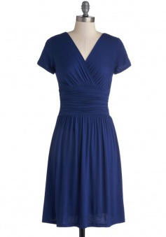 Cheap Sheath Column V-neck Chiffon Bridesmaid Dress