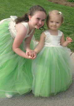 Stunning Floor-Length Sleeveless Mint Flower Girl Dress with Bowknot