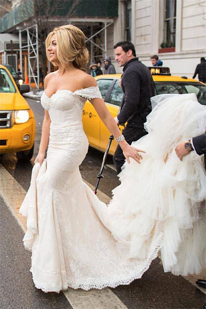 Mermaid Wedding Dress with Train