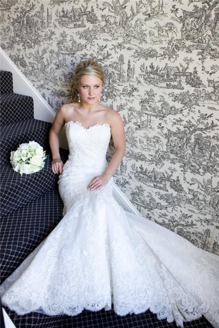 Strapless Wedding Dress 2018