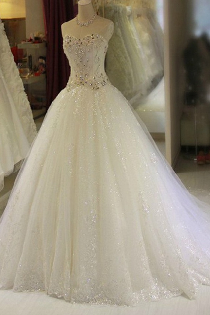 Princess Wedding Gowns With Sparkles 62 Off Plykart Com