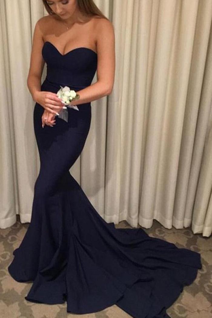 Sweep Train Prom Dress