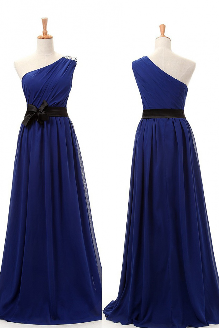 4ae0e9bc7186 Simple-dress 1940s Vintage Short Lace Royal Blue Bridesmaid Dresses  LAPD-7164 - Wisebridal.com